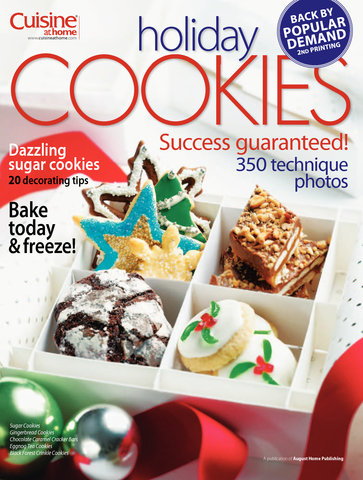 Holiday Cookies Volume 1 Cuisine At Home Library