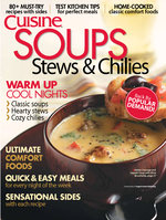 Soups, Stews & Chilies, Volume 1